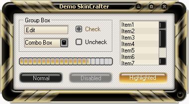 الاداة SkinCrafte الخاصة بالفجوال بيسك 6 مع أكثر من 40 سكن  Centurion